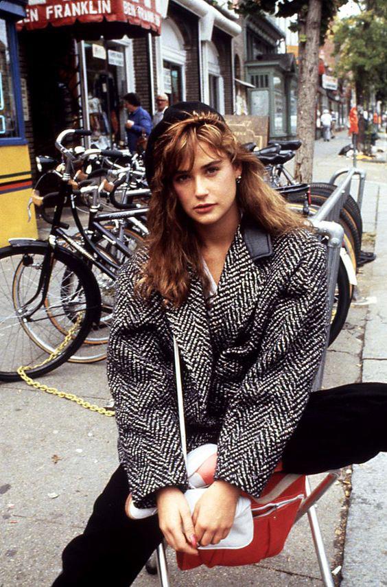 moda años 80 ropa holgada