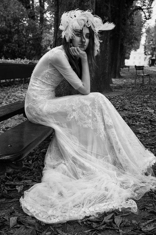 Vestidos de novia bohemios bonitos